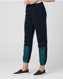 Juicy Couture IRIDESCENT MIXED TRACK PANT