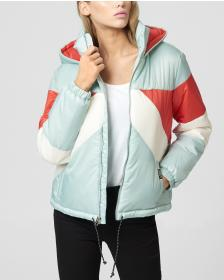 Juicy Couture JXJC Colorblock Puffer Jacket