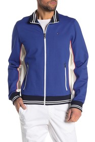 Tommy Hilfiger Striped Zip Front Track Jacket
