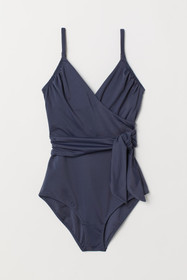 Shaping Swimsuit with Ties