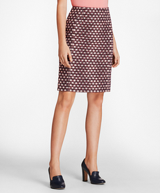 Brooks Brothers Tweed A-Line Skirt