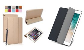 Wake/Sleep Leather Stand Magnetic Back Case Cover