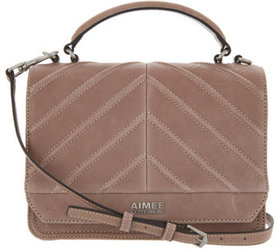 """""""As Is"""" Aimee Kestenberg Leather Expandable Crossb"""