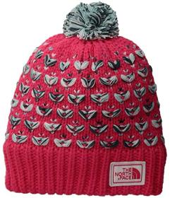 The North Face Chunky Pom Beanie (Big Kids)