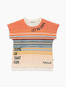 Lucky Brand Little Girls 2t-6x Verena Tee