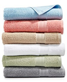 Sunham Soft Spun Cotton Bath Towel Collection