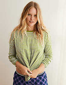 American Eagle Aerie Striped Tee