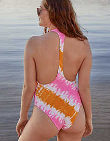 "American Eagle Aerie ""THE ONE"" Piece Racerback Swi"
