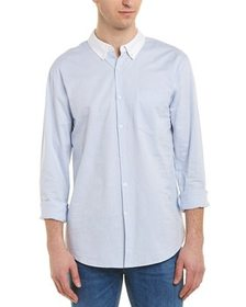 Solid & Striped Contrast Woven Shirt~1220149168