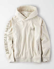 American Eagle AE Graphic Fleece Pullover Hoodie