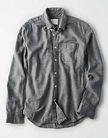 American Eagle AE Flannel Button Down Shirt