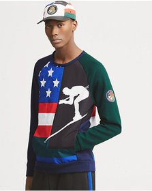Ralph Lauren Double-Knit Graphic Sweatshirt