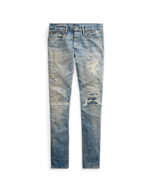 Ralph Lauren Sullivan Slim Distressed Jean