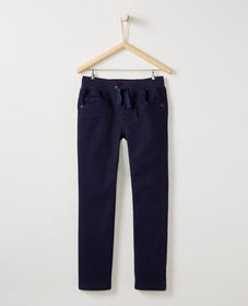 Hanna Andersson Kickstart Slim Pants In Stretch Tw