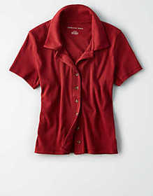 American Eagle AE Button Up Shirt