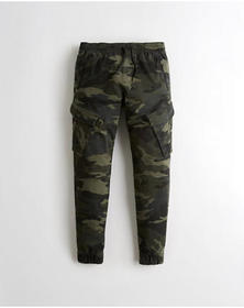Hollister Advanced Stretch Jogger Pants, CAMO