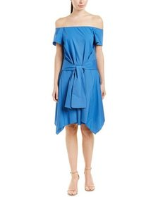 Halston Heritage A-Line Dress~1050602277