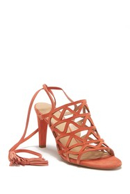Chloe Cage Lace-Up Sandal