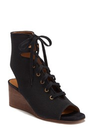 Chloe Ghillie Lace-Up Wedge Sandal
