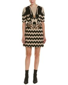 Valentino Wool & Silk-Blend Shift Dress~1411915587