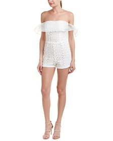 Few Moda Off-The-Shoulder Romper~1411618695