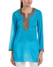 Sulu Collection Silk-Blend Tunic~1411705522