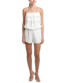 Liberty Garden Lace-Trim Romper~1411068137