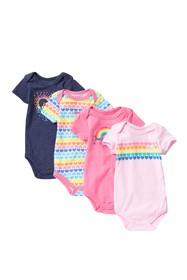 Juicy Couture Bodysuits - Pack of 4 (Baby Girls)