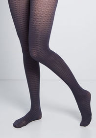 Doing the Rounds Tights Navy