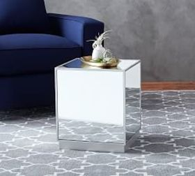Pottery Barn Park Accent Cube