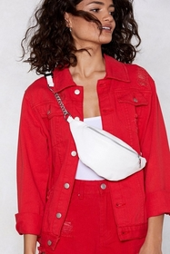 Nasty Gal WANT Strong Link Fanny Pack