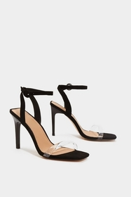 Nasty Gal Square Breed Strappy Heel