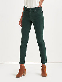 Lucky Brand Ava Mid Rise Skinny Corduroy Pant