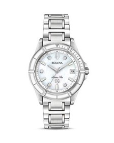 Bulova - Marine Star Link Bracelet Watch, 34mm