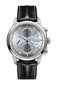 Hamilton Men's Railroad Automatic Embossed Leather