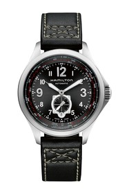 Hamilton Men's Khaki Aviation Leather Strap Watch
