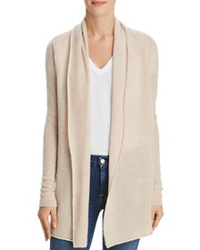 C by Bloomingdale's - Open-Front Cashmere Cardigan