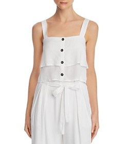 Re:Named - Evie Tiered Button-Down Top