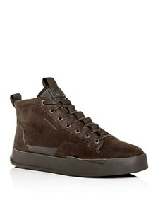 G-STAR RAW - Men's Rackham Nubuck Leather Mid-Top