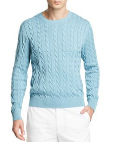 Brooks Brothers - Cable Knit Crewneck Sweater