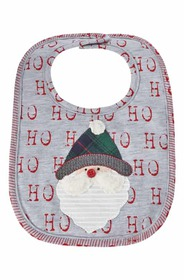 Mud Pie Santa Alpine Bib (Baby) Mud Pie Santa Alpi