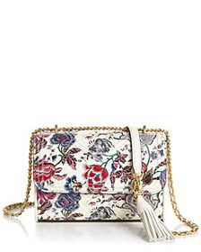 Tory Burch - Fleming Small Convertible Floral Leat