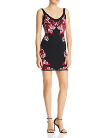 GUESS - Mirage Floral Body-Con Dress