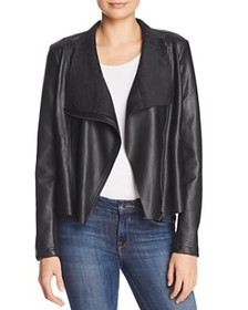 FRENCH CONNECTION - Armide Faux-Leather Moto-Inspi