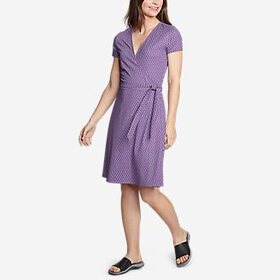 Women's Aster Short-Sleeve Wrap Dress