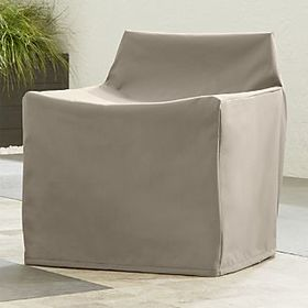 Crate Barrel Outdoor Small Lounge Chair Cover