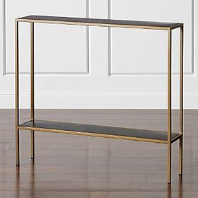 Crate Barrel Remi Console Table