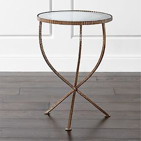 Crate Barrel Jules Small Accent Table