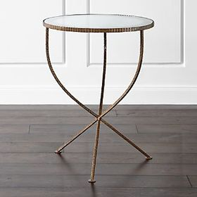 Crate Barrel Jules Large Accent Table