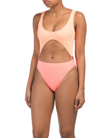REEF Splash Cut Out One Piece Swimsuit